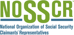 Member - National Organization of Social Security Claimants' Representatives